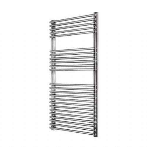 Abacus Elegance Strato Tube On Tube Towel Rail - 1250mm x 480mm - Chrome